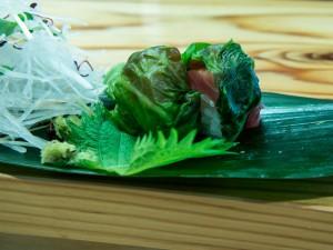 メハリ寿司。当店の名物です
